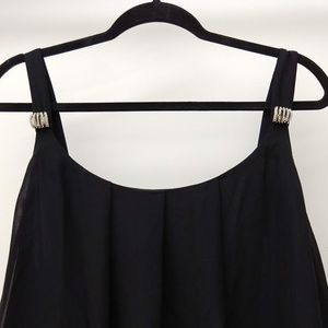 NWOT Black Dress with Rhinestones Size 18W